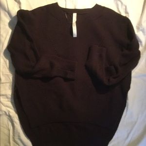 Lululemon merino wool sweater, 12, deep burgundy